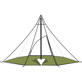 Helsport Lavvu 4-6 Varanger Bâche de sol pour tente 8 angles